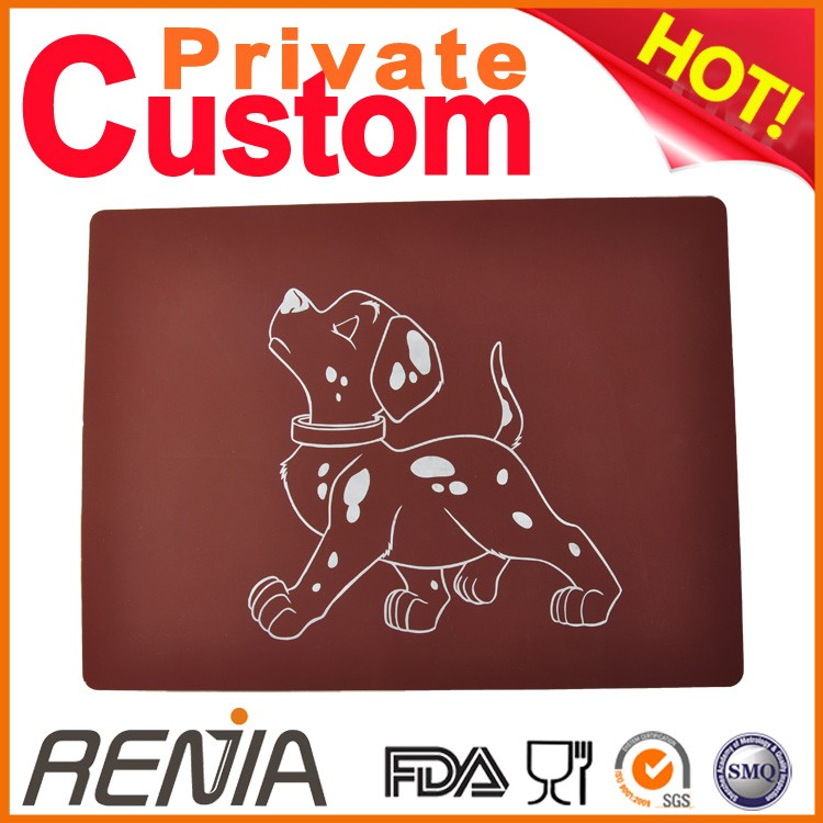 RENJIA outdoor dog pad silicon pad pet silicone cooling dog bed