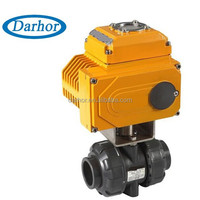 Darhor brand 24VDC 12VDC electric operated ball valve