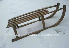 ECO-FRIENDLY MATERIAL WOODEN DECORATION SLED