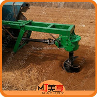 Top Quality Low Price Tractor mounted tree planting hole digging machine /0086 13343717916
