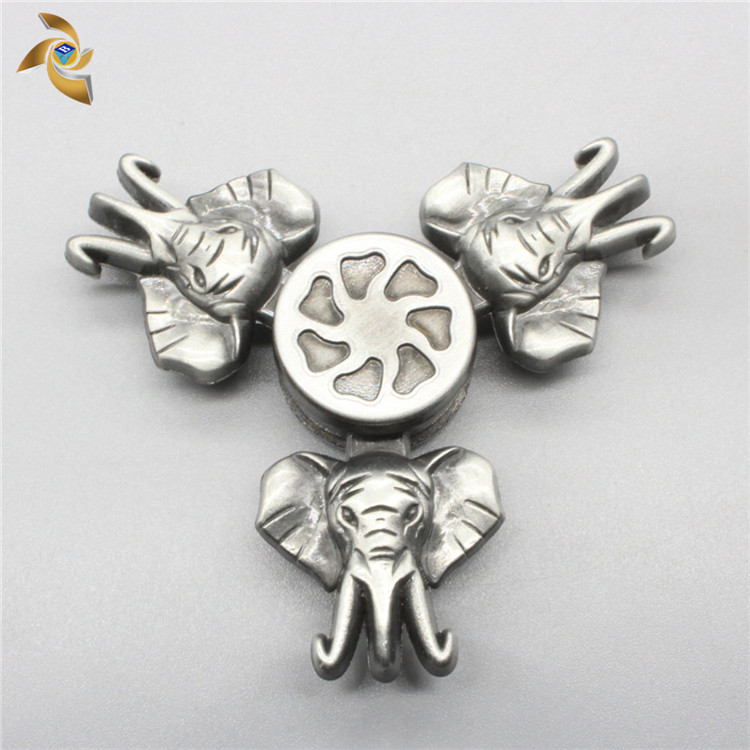 China Factory Custom Design Hand Finger Elephant Toy Spinner