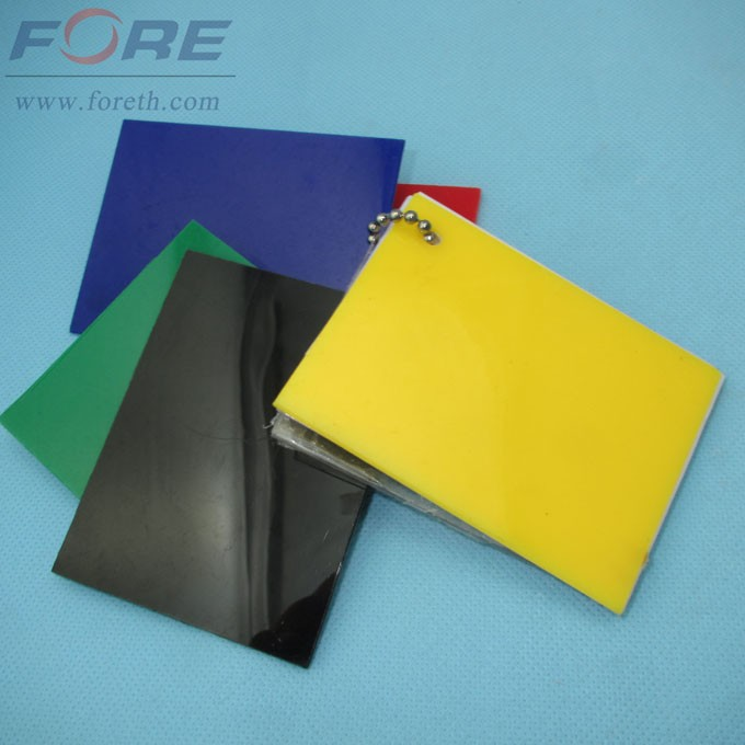 Polystyrene Material PS Sheet For Fluorescent Lamp Light Cover