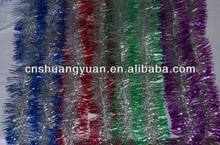 Luxurious design christmas decoration,christmas tinsel