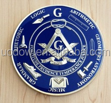 Corporate gift logo available metal cheap custom masonic challenge coins