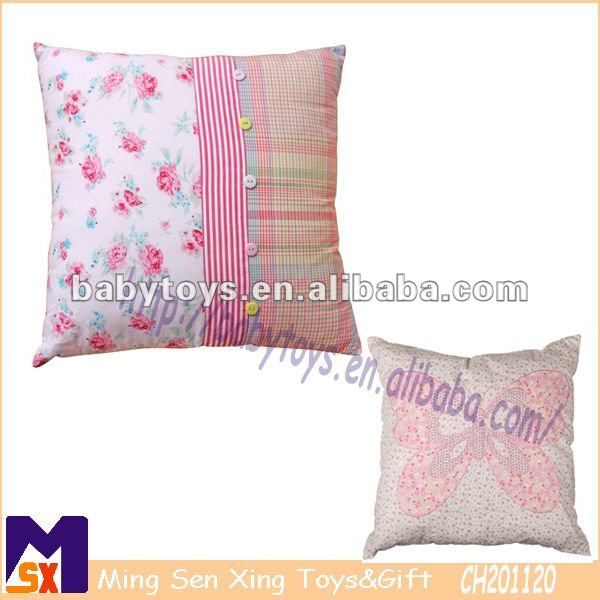 printed home deco cushion,Scrapbook Square Filled Sweet Treats Cushion