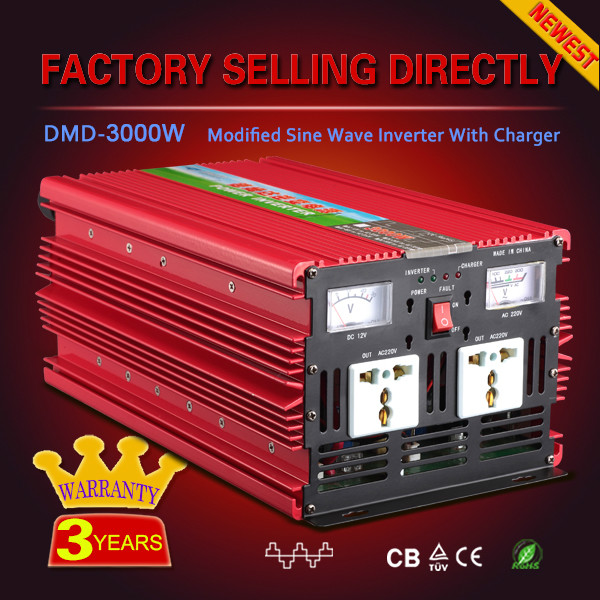 Intelligent 12v dc to 220v ac 1000w 2000w 3000w inverter power saver with factory price