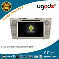 Dashboard and placement 8 inch android double din car autoradio dvd gps for Toyota Camry 2009 2010 2011