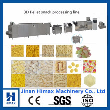 Full automatic Fried 3D Papad pellet Snacks food making machine