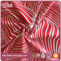 High quality weft knitting swimwear printed fabric