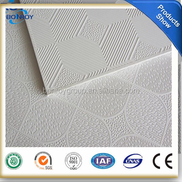Interior wall pvc decorative False ceiling designs/gypsum ceiling board