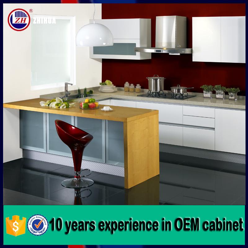 Australian project high gloss kitchen cabinets china cheap for Cheap gloss kitchen units
