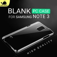 Clear Sublimation Case For Galaxy Note 3, Print Cover For Samsung Note 3, For Smart Phone Cases Note 3