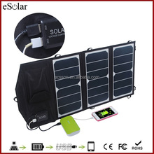 ECSSON H20 solar panel charger with highest Conversion Rate 20W for mobile and tablet pc