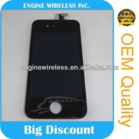 mobile phone accessory lcd/touch screen for iphone 4
