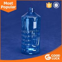 2L PET clear empty plastic bottle water bottle