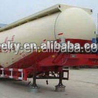 3Axles 40CBM Cement Transportation Tanker Trailer