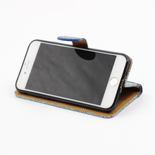 PU leather phone case for iphone 6 case,leather cell phone cover For iphone 7