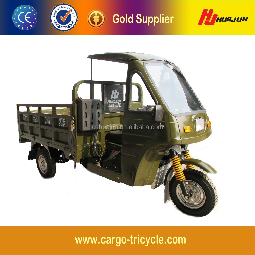 Heavy Duty Tricycle Closed Body/Pedal Cargo Tricycle/Cargo Tricycle with Cabin