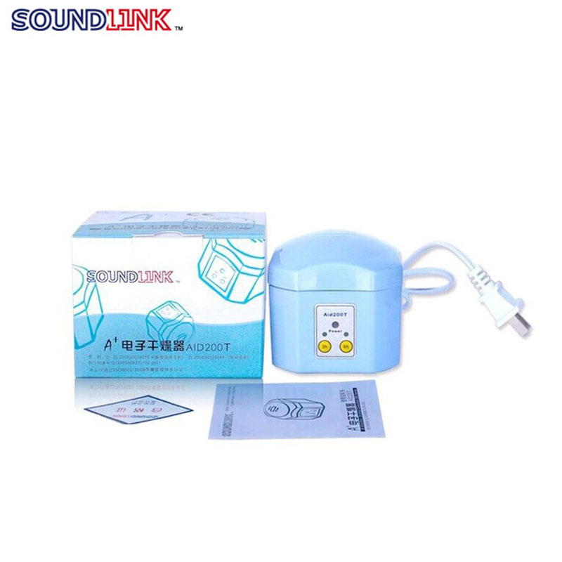 Electric hearing aid dryer dehumidificador for deaf aids