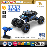 1:18 4WD rc racing crawler car rc toys