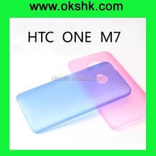 silicone case cover for HTC ONE M7 mobile phone shell