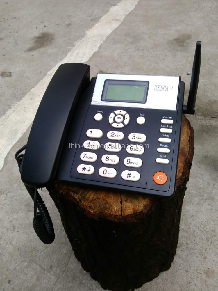 GSM type fixed wireless phone/GSM desktop telephone