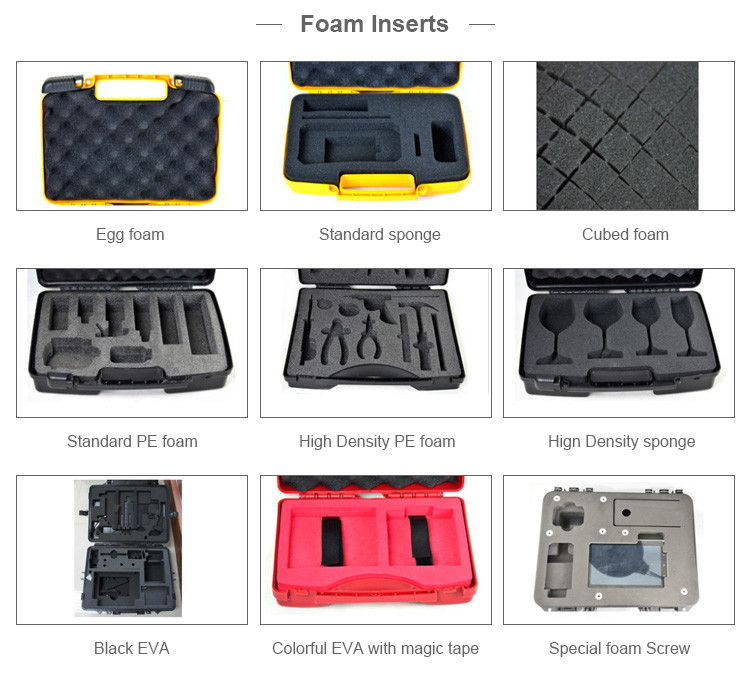 Factory wholesale Safety IP68 waterproof hard carrying tool plastic case
