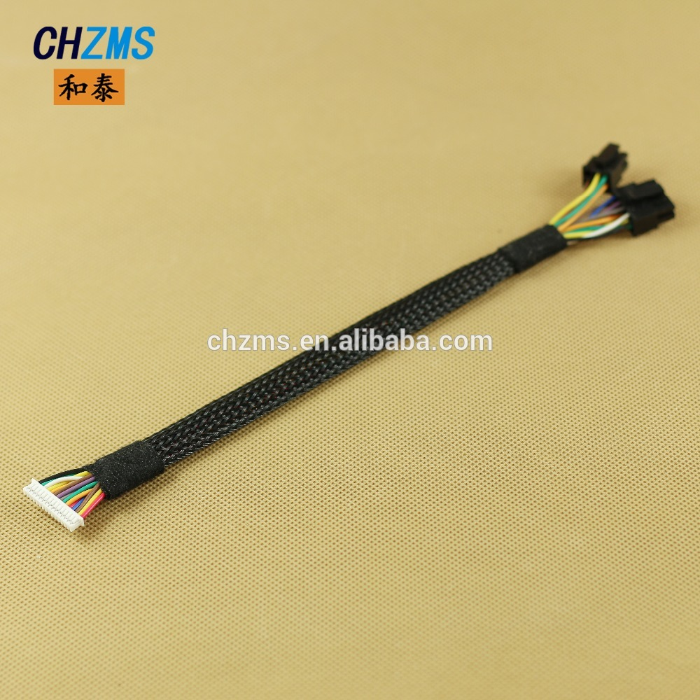 Switch connector 4 pin female factory price customized wire harness