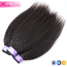 2017 new popular grade 8a virgin hair unprocessed raw peruvian hair kids ponytail hair extension