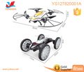 2016 Newest remoye control tumbling stunt car with led lighting function transformation drone