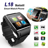 2016 L18 Smart Watch Wrist Waterproof smart watch android dual With 2.0MP Camera Bluetooth Remote Support SIM Card and TF Card