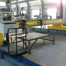 Gantry CNC Plasma Cutting Machine With Adopting Panasonic Servo System