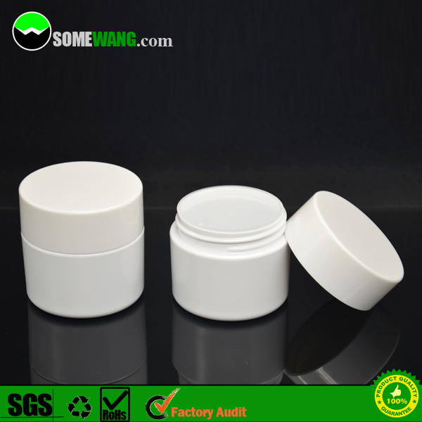 5ml/7ml/10ml/15ml/30ml/50ml/100ml thick wall high clear PETG jar for cosmetic packaging