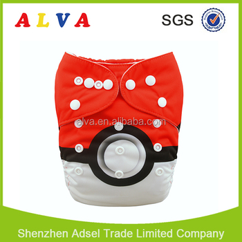Alvababy New Design Hot Sale Wholesale Baby Cloth Diaper Washable Baby Diapers
