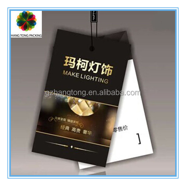 Customized promotional 2014 furniture hang tags wholesale