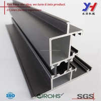 Custom aluminum extruded profile for door window system