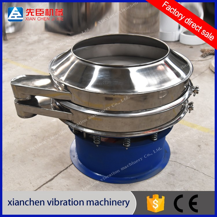 SUS304 Pape-making industry Vibrating Sifter