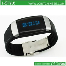 J-Style 3D waterproof activity tracker bluetooth digital vibrating wristband heart rate monitor