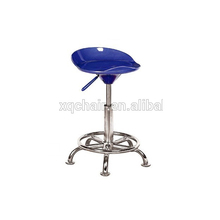 Sale Promotion ABS swivel Bar stools with wheels XQ 214