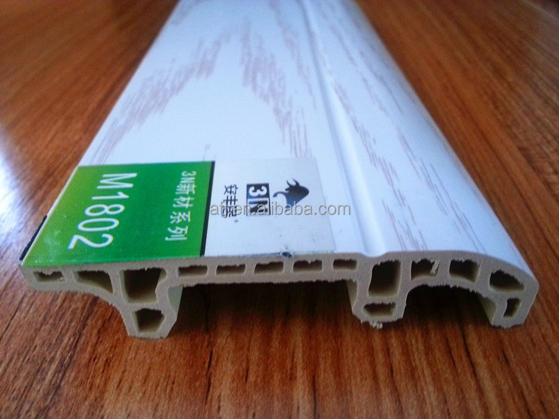 hot selling flooring accessory indoor WPC skirting board