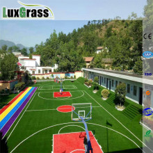 red color synthetic grass artificial turf flooring carpet for basketball court