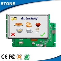 "4.3"" lcd display module touch screen digitizer as Photovoltaic Domain hmi"