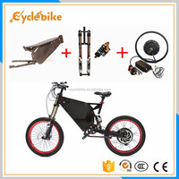 Super power stealth bomber 5000w ebike The fastest electric road bike in china