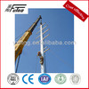 35kv polygon galvanized steel electrical power poles