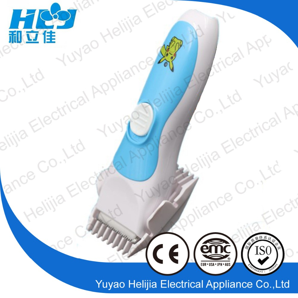 baby hair trimmer with ceramic blades baby electric hair cutter