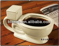 ceramic miniature toilet model mug use
