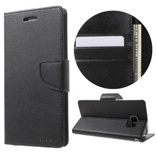Original Mercury Goospery Wallet Case For Samsung S5, Bravo Diary Leather Phone Case For Samsung S5 Case Wholesale