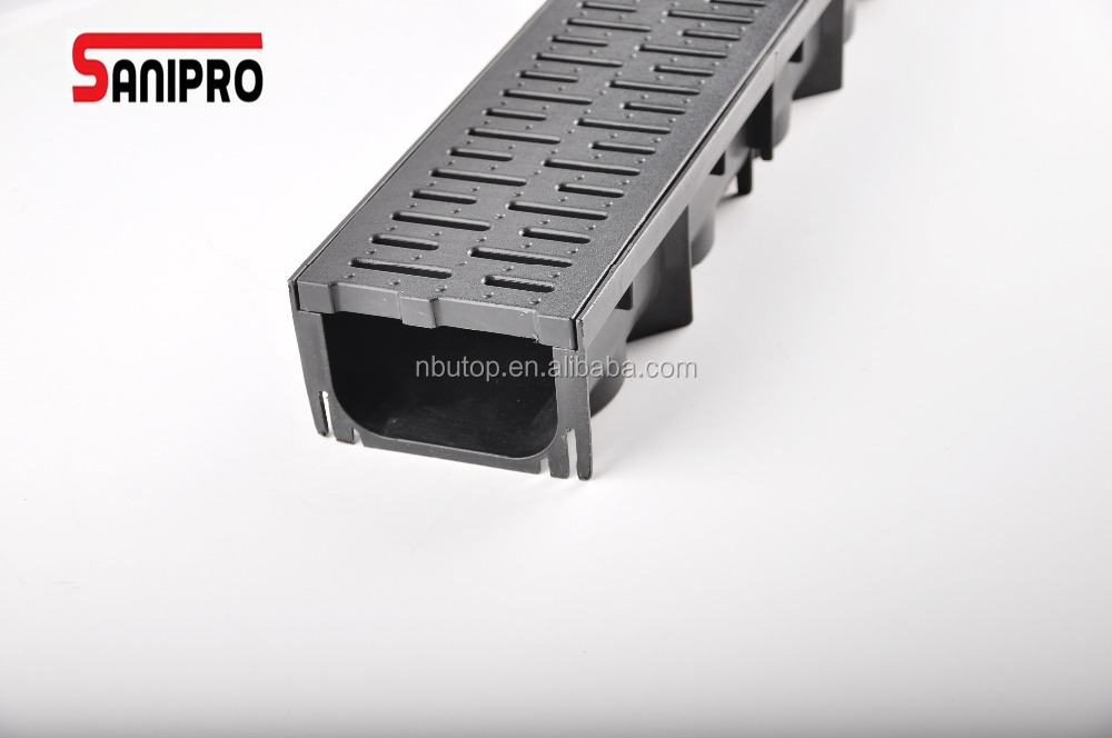1 Meter plastic drainage Square Outdoor drain cover drainage channel