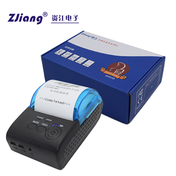 Bill/receipt use USB/COM/Bluetooth portable mobile printer