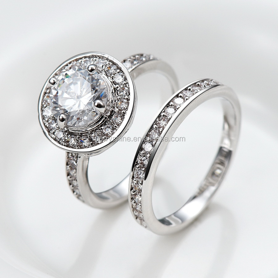 Solid silve wedding jewelry distinctive ring brilliant for Jewelry wedding rings